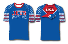 NC Jets Wrestling Sublimated Fight Shirt