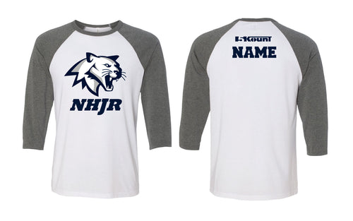 NH JR. Football Baseball Shirt - 5KounT
