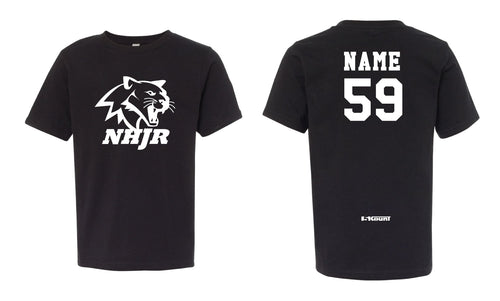 NH JR. Football Cotton Crew Tee - 5KounT