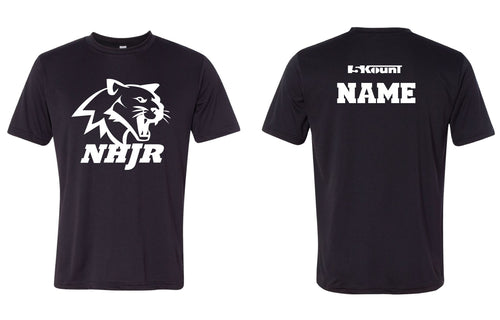 NH JR. Football Sublimated DryFit Performance Tee - 5KounT