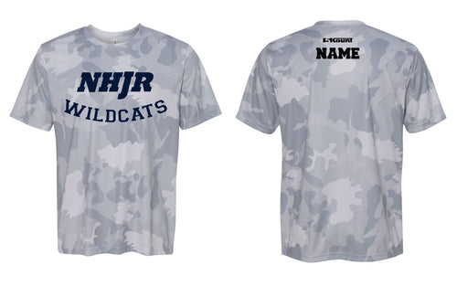 NH JR. Football Laser Camo Tech Tee - 5KounT