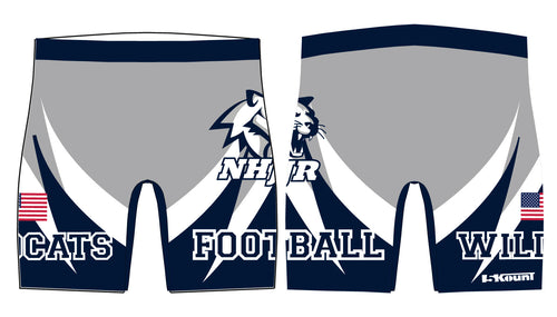 NH JR. Football Sublimated Compression Shorts - 5KounT