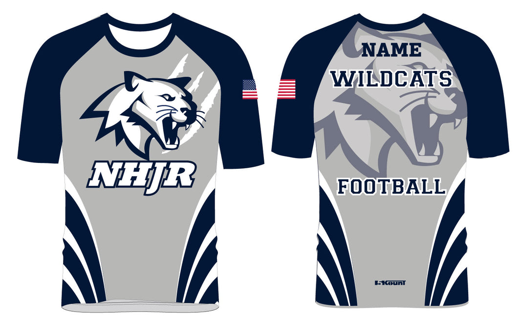 NH JR. Football Sublimated Shirt - 5KounT