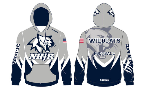 NH JR. Football Sublimated Hoodie - 5KounT