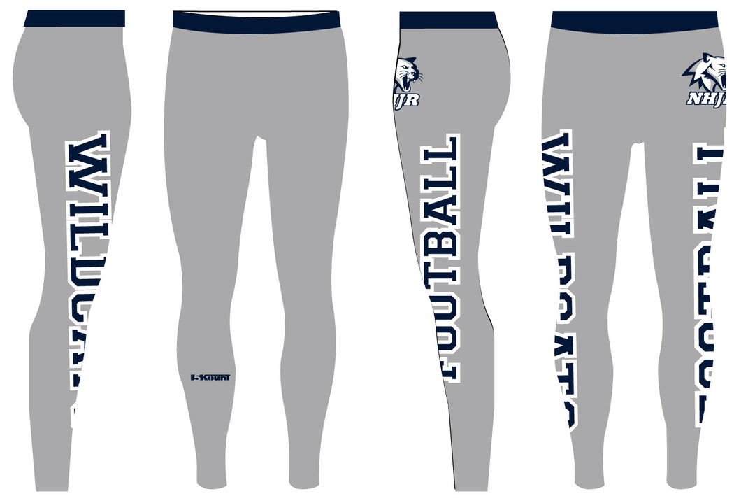 NH JR. Football Sublimated Mens Legging - 5KounT