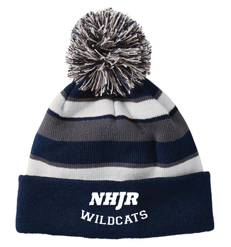 NH JR. Football Pom Beanie - 5KounT