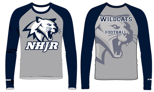 NH JR. Football Sublimated Compression Shirt - 5KounT