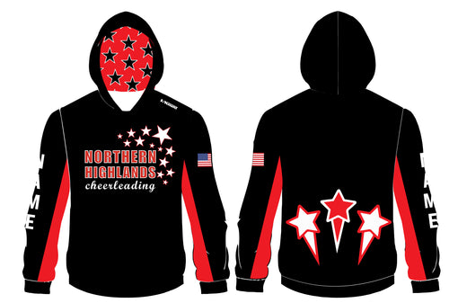 Highlands Cheer Sublimated Hoodie - 5KounT2018