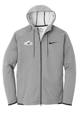 SVMFL Nike Therma-FIT Textured Fleece Full-Zip Hoodie - Gray - 5KounT2018