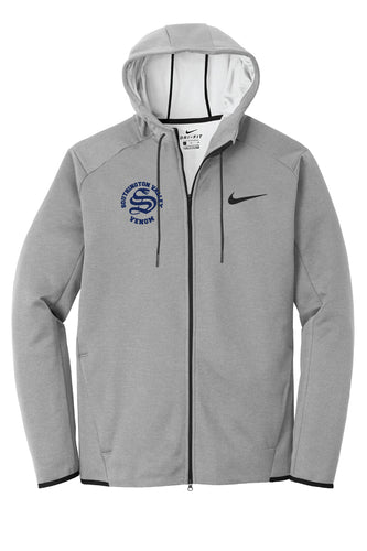 Southington Valley Venom Nike Therma-FIT Textured Fleece Full-Zip Hoodie - Gray - 5KounT2018