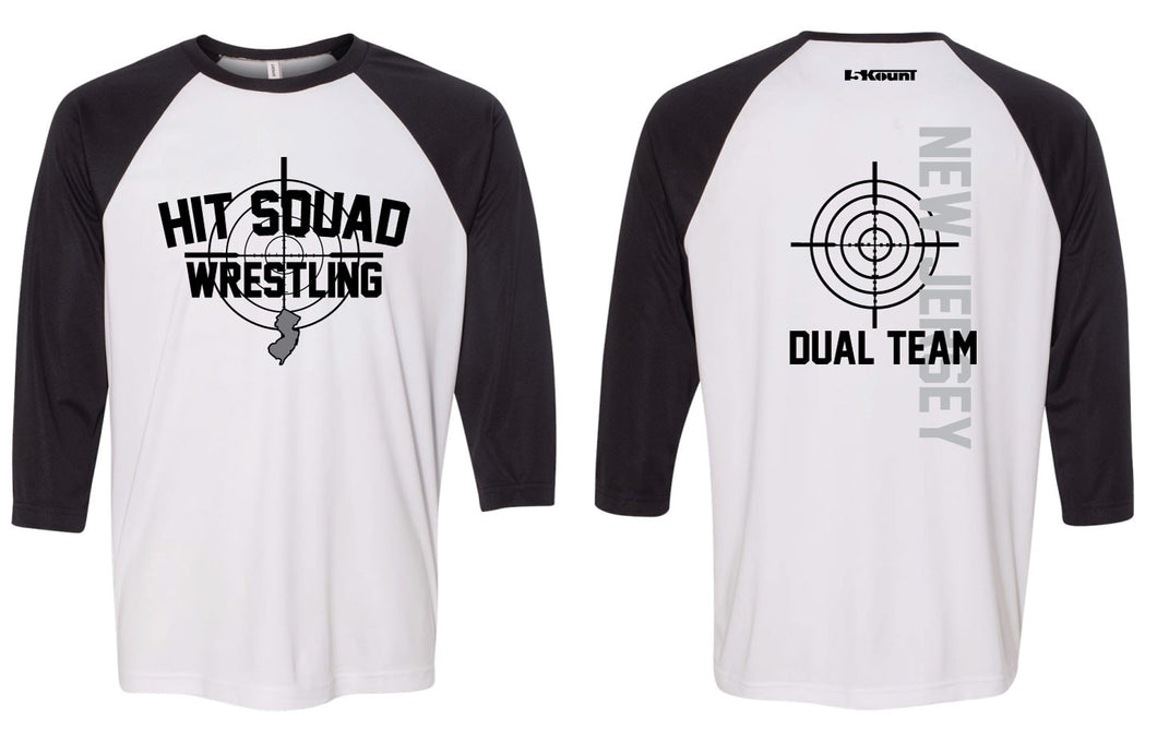 NJHit Squad Sublimated Baseball Shirt