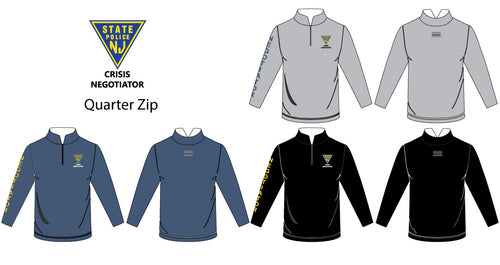 Crisis Negotiator Sublimated Quarter Zip - 5KounT