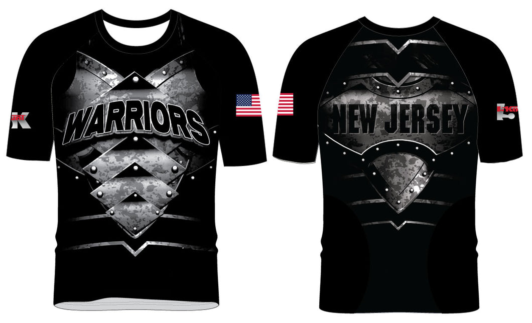 Mat Warriors Sublimated Fight Shirt - Freestyle
