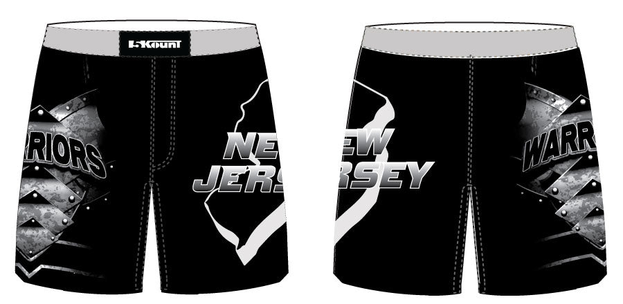 Mat Warriors Sublimated Fight Shorts - Freestyle - 5KounT2018