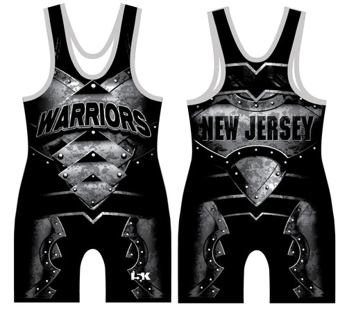 Mat Warriors Sublimated Singlet - Black
