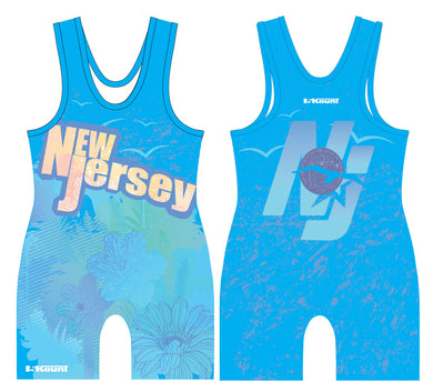 STATE- New Jersey Singlet-Blue