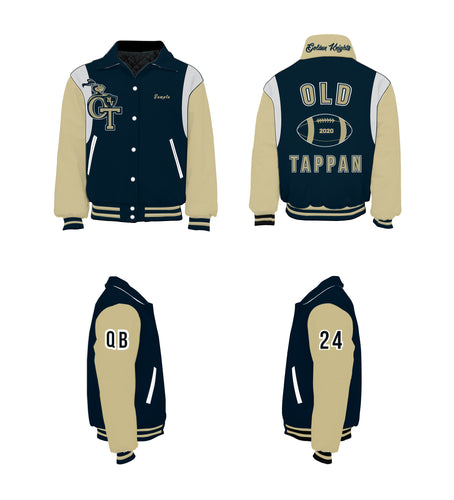 NVOT Golden Knights Varsity Jacket - 5KounT2018