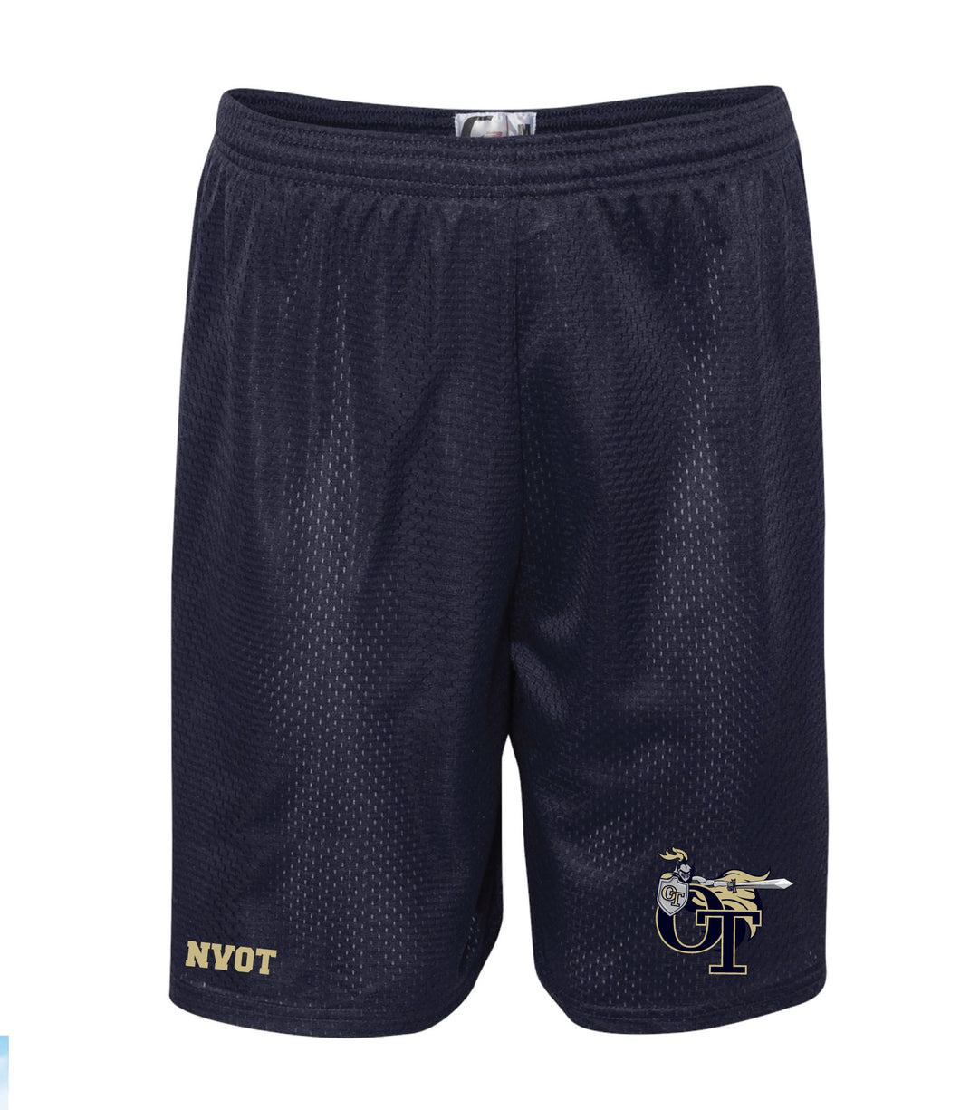 NVOT Wrestling Tech Shorts - Navy