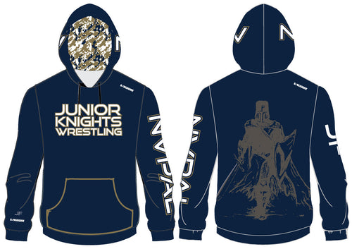 Jr. Knights Wrestling Sublimated Hoodie