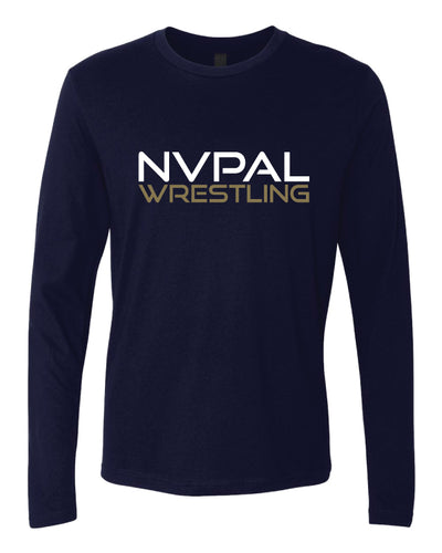 Jr. Knights Wrestling Cotton Long Sleeve - Navy