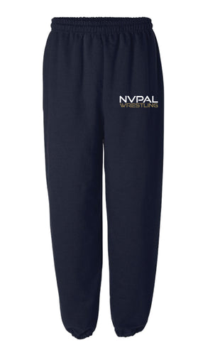 Jr. Knights Wrestling Cotton Sweatpants - Navy