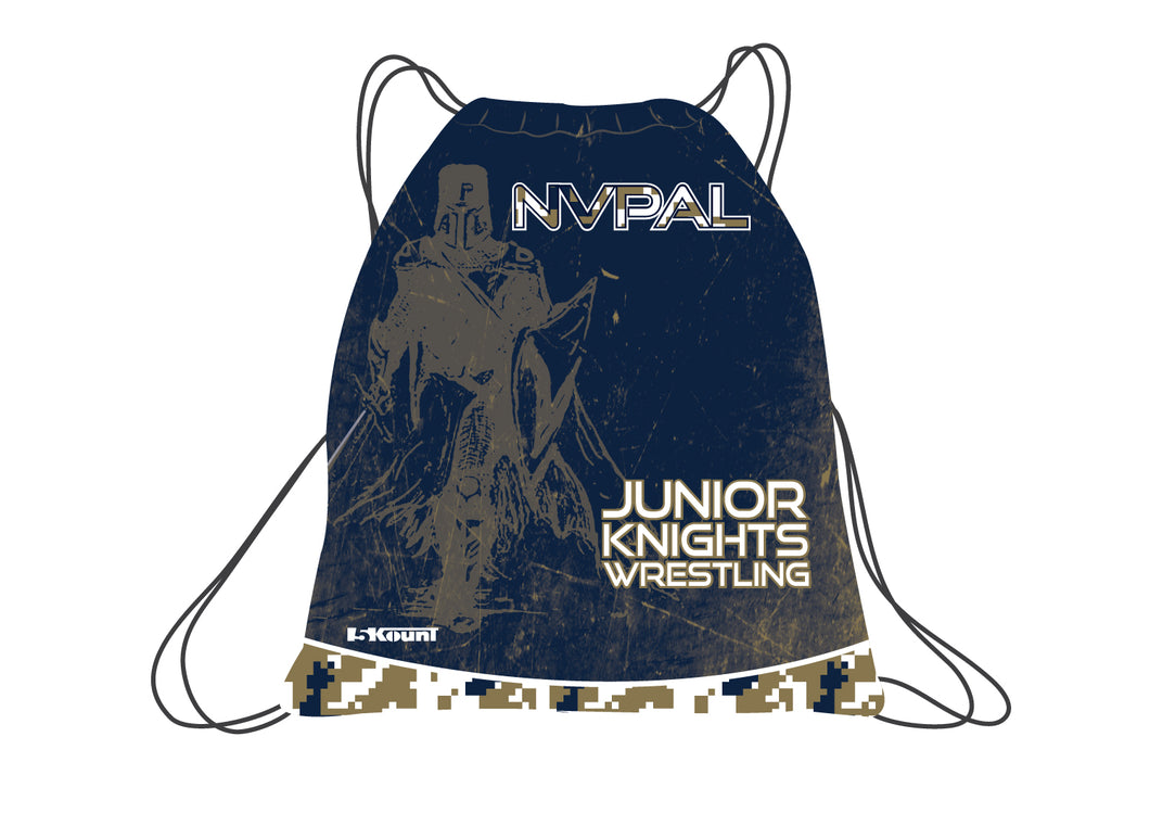 Jr. Knights 2017 Sublimated Drawstring Bag - 5KounT