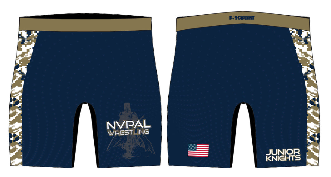Jr. Knights Wrestling Sublimated Compression Shorts