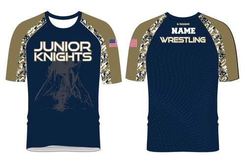 Jr. Knights Wrestling Sublimated Fight Shirt