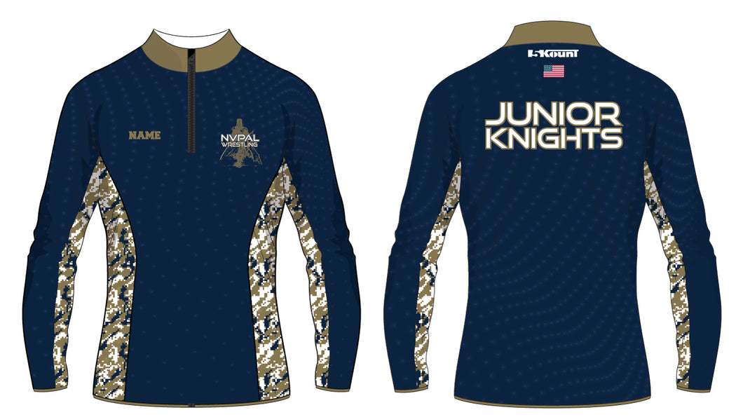 Jr. Knights Wrestling Sublimated Quarter Zip