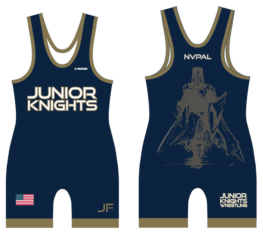 Jr. Knights Wrestling Sublimated Singlet