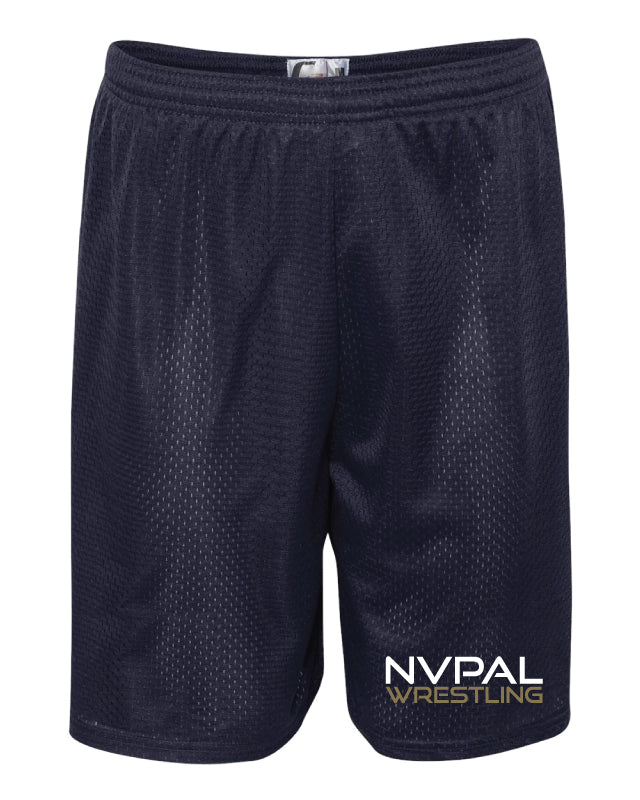 Jr. Knights Wrestling Tech Shorts - Navy