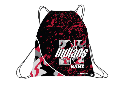 NYACK Wrestling Sublimated Drawstring Bag