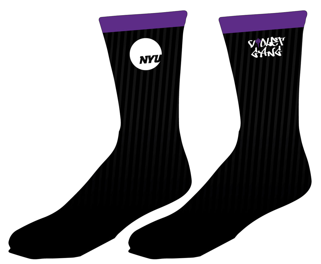 NYU Sublimated Socks