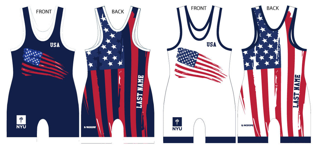 NYU Wrestling 2016 Germany Tournament - Singlet