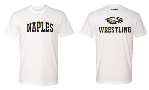 Naples Wrestling Club Cotton Crew Tee - White