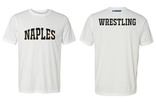 Naples Wrestling Club DryFit Performance Tee - White