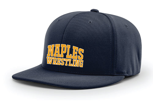 Naples Wrestling Club FlexFit Cap - Navy