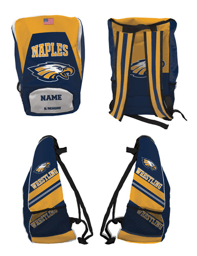 Naples Wrestling Club Sublimated Backpack