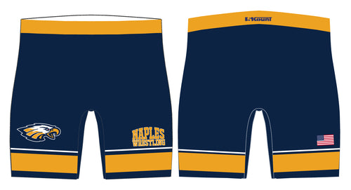 Naples Wrestling Club Sublimated Compression Shorts