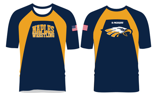 Naples Wrestling Club Sublimated Fight Shirt - 5KounT