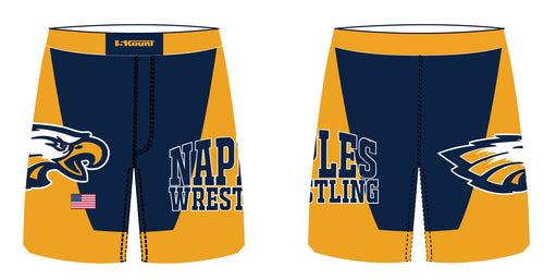 Naples Wrestling Club Sublimated Fight Shorts - 5KounT