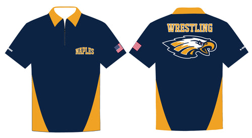 Naples Wrestling Club Sublimated Polo - 5KounT