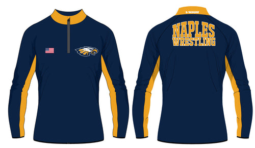 Naples Wrestling Club Sublimated Quarter Zip