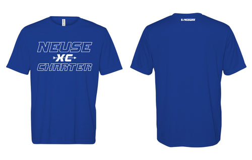 Neuse Charter Cross Country DryFit Tee - Royal