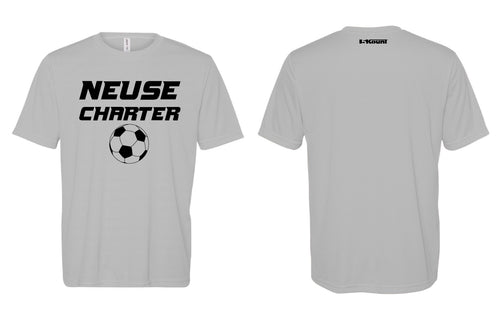 Neuse Charter Soccer DryFit Tee - Grey