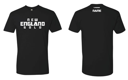 New England Gold Wrestling Cotton Crew Tee - 5KounT2018