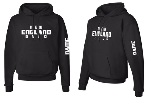 New England Gold Wrestling Cotton Hoodie - 5KounT2018