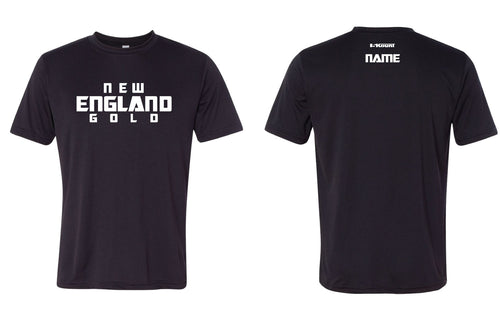 New England Gold Wrestling DryFit Performance Tee - 5KounT2018