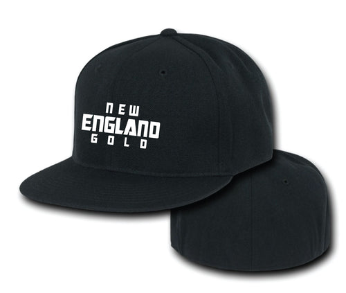 New England Gold Wrestling FlexFit Cap - 5KounT2018