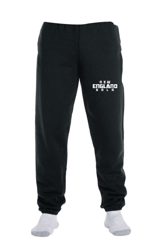 New England Gold Wrestling Cotton Sweatpants - 5KounT2018